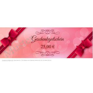 Geschenkgutschein Neutral Rose