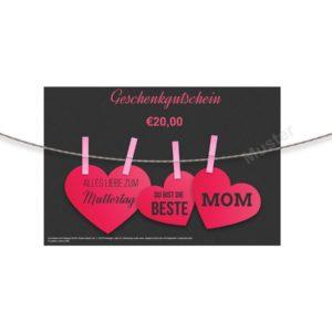 Geschenkgutschein Muttertag Reitsport, Geschenkgutschein Muttertag