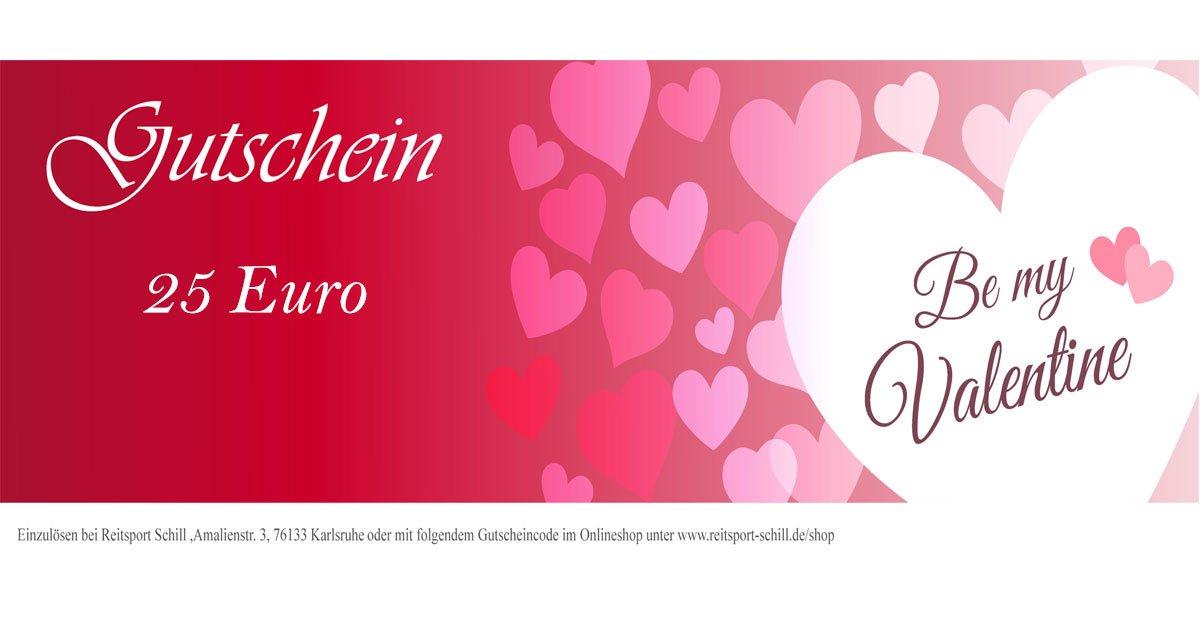 Gutschein Valentinstag Reitsport
