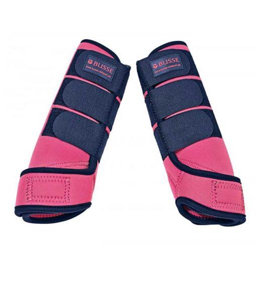 Busse Gamaschen Basic Pink, Busse Fesselkopfgamaschen, Busse Gamaschen Pferd, Beinschutz Pferd
