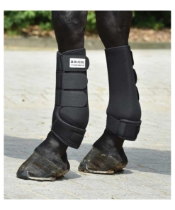 Busse Gamaschen Basic schwarz, Busse Fesselkopfgamaschen, Busse Gamaschen Pferd, Beinschutz Pferd