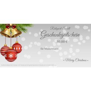 Geschenkgutschein Weihnachten 8
