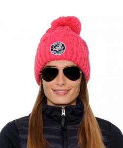 Spooks-Nelly-Hat-Pink-10000372. Bommelmütze Spooks, Strickmütze Spooks, Bommelmütze pink spooks