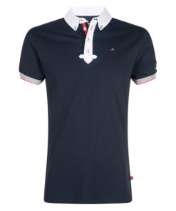 euro-star-Turniershirt-Herren- Jaap-navy, Herrenturniershirt navy, euro-star Herrenshirt, euro-star Turniershirt