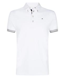 euro-star-Turniershirt-Herren- Jaap-weiß, Herrenturniershirt weiß, euro-star Herrenshirt, euro-star Turniershirt