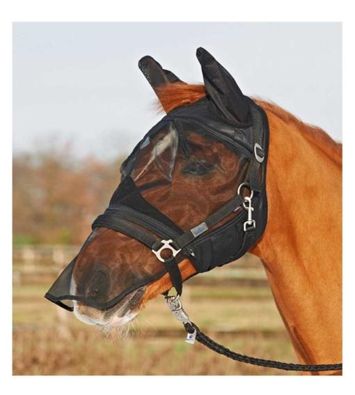 Busse-Fliegenmaske-Fly-Protector, Fliegenmaske Pferd, Mückenschutz Pferd, Augenmaske Pferd