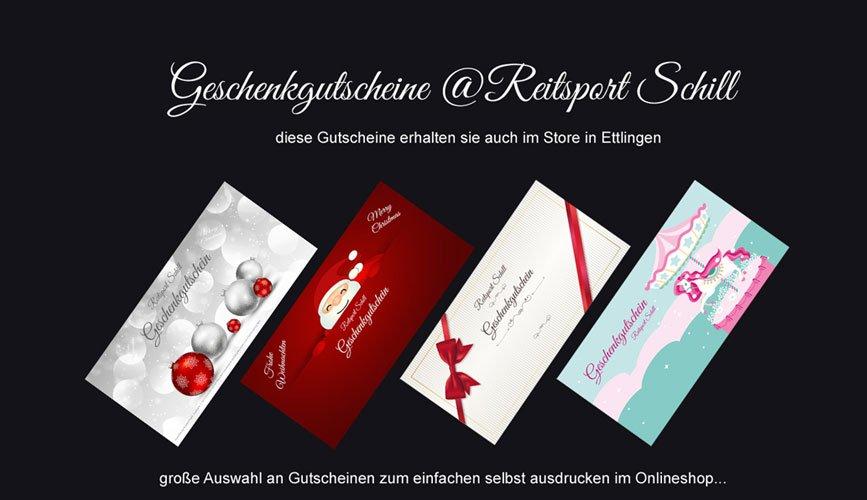Gesschenkgutscheine Reitsport, Geschenkgutscheine Reiten, Geschenkgutscheine ausdrucken.