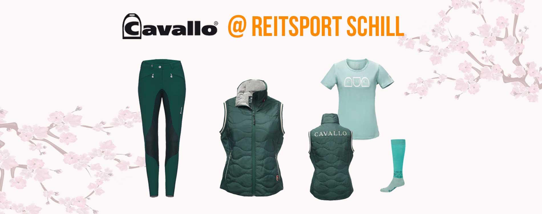 Cavallo Reitbekleidung, Cavallo 2019, Cavallo Frühjahr-Sommer 2019,