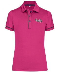 Busse Kinder Reitshirt Kids Collection Pink, Busse Kids Collection, Reitpolo Kinder,