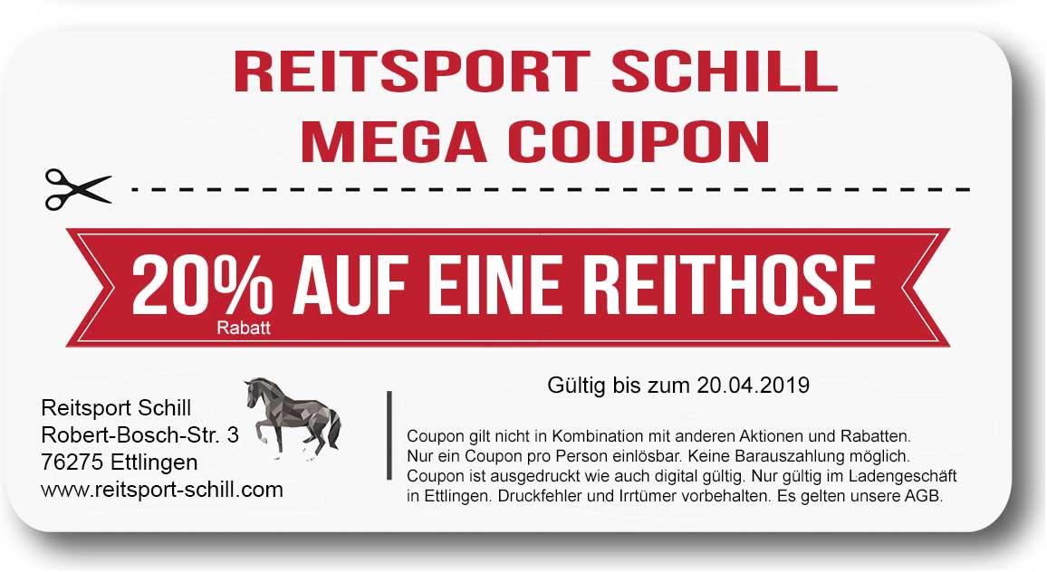 Coupon Reithose, Rabatt Reithose, Rabatt Reitsport