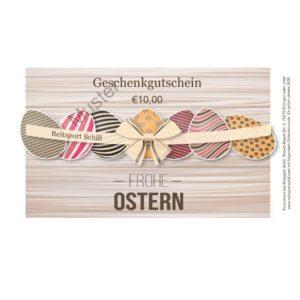 Geschenkgutschein Reitsport Ostern, Geschenkgutschein selbst ausdrucken, Geschenkgutschein Reiten