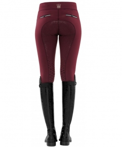 Spooks Carla FullGrip Leggings, Spooks Carla burgundy, Spooks Reitleggins, Spooks 2019