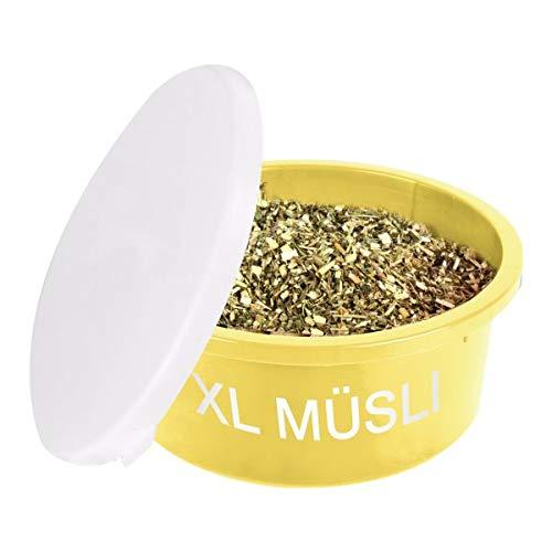 Waldhausen XL Müsli-Schale mit Deckel gelb