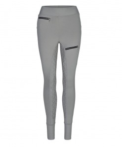 Busse Damen REIT-Tights Perfect Fit Grau