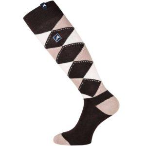 euro-star Socken Polygiene, braun/beige/weiß